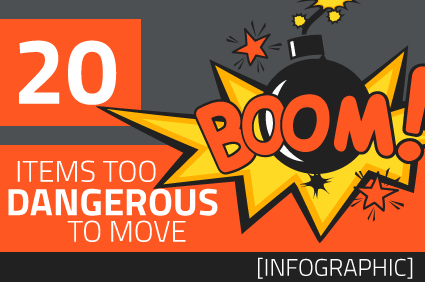 Top 20: Too Dangerous to Move [infographic]